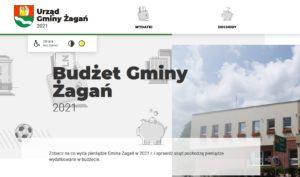 Poznaj budżet gminy Żagań – przyjazna prezentacja budżetu na rok 2021